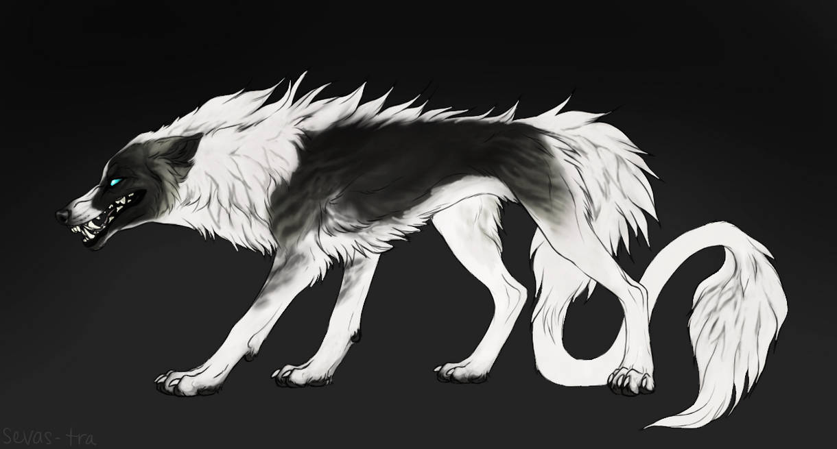 Barghest Wolf #3 by markedwolf