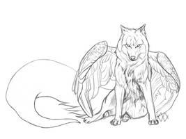 Night by markedwolf
