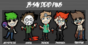 Free Raffle! Win Pins (CLOSED) by IsSavDead on DeviantArt