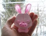 Pig-Rabbit - Origami