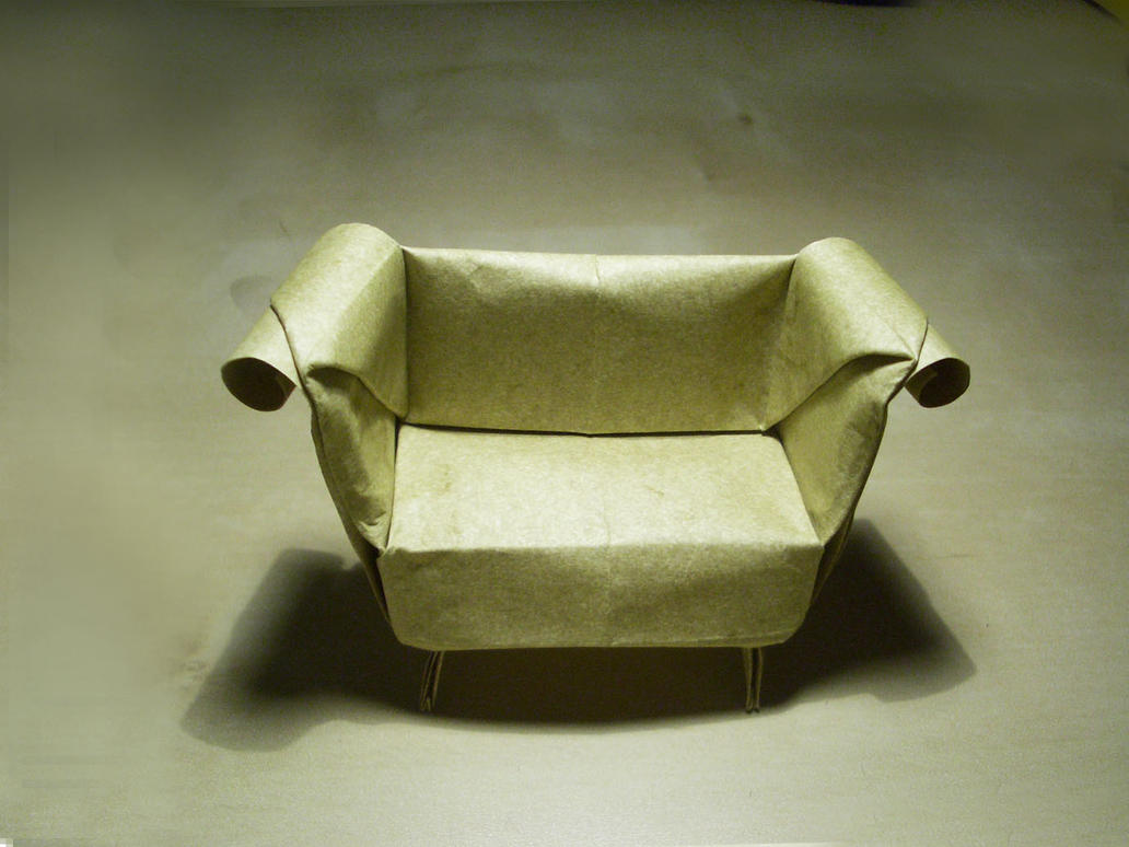 Sofa - Origami by mitanei