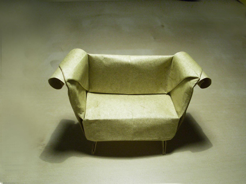 Sofa - Origami by mitanei