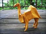 Dromedary - Origami