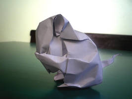 Little Mouse - Origami by mitanei