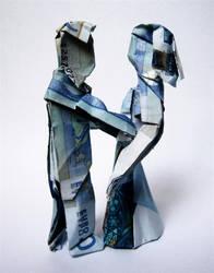 Money Wedding - Origami