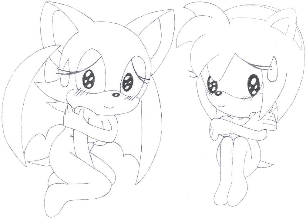 And nackt rouge amy Sonic Pics