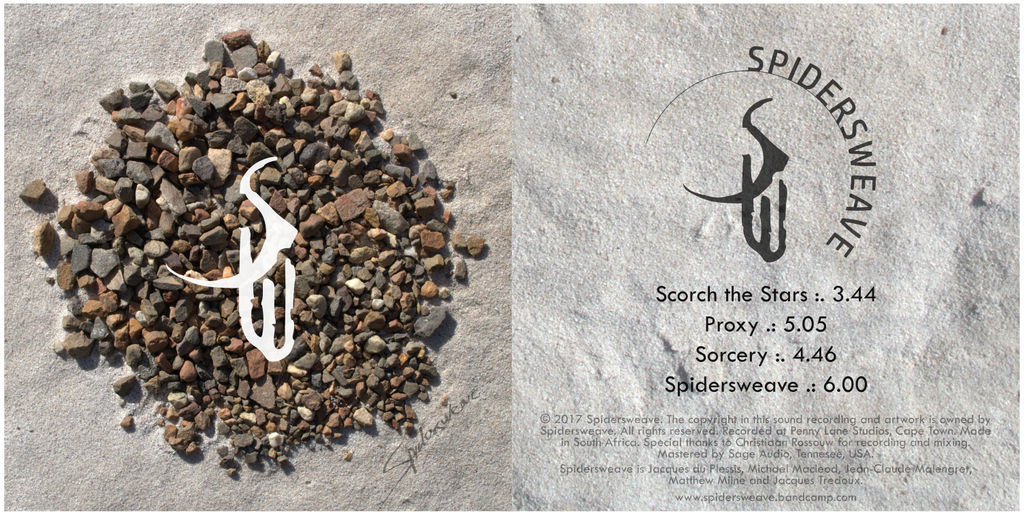 Spidersweave CD cover design