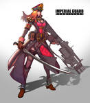 imperial guard(w.commissars)
