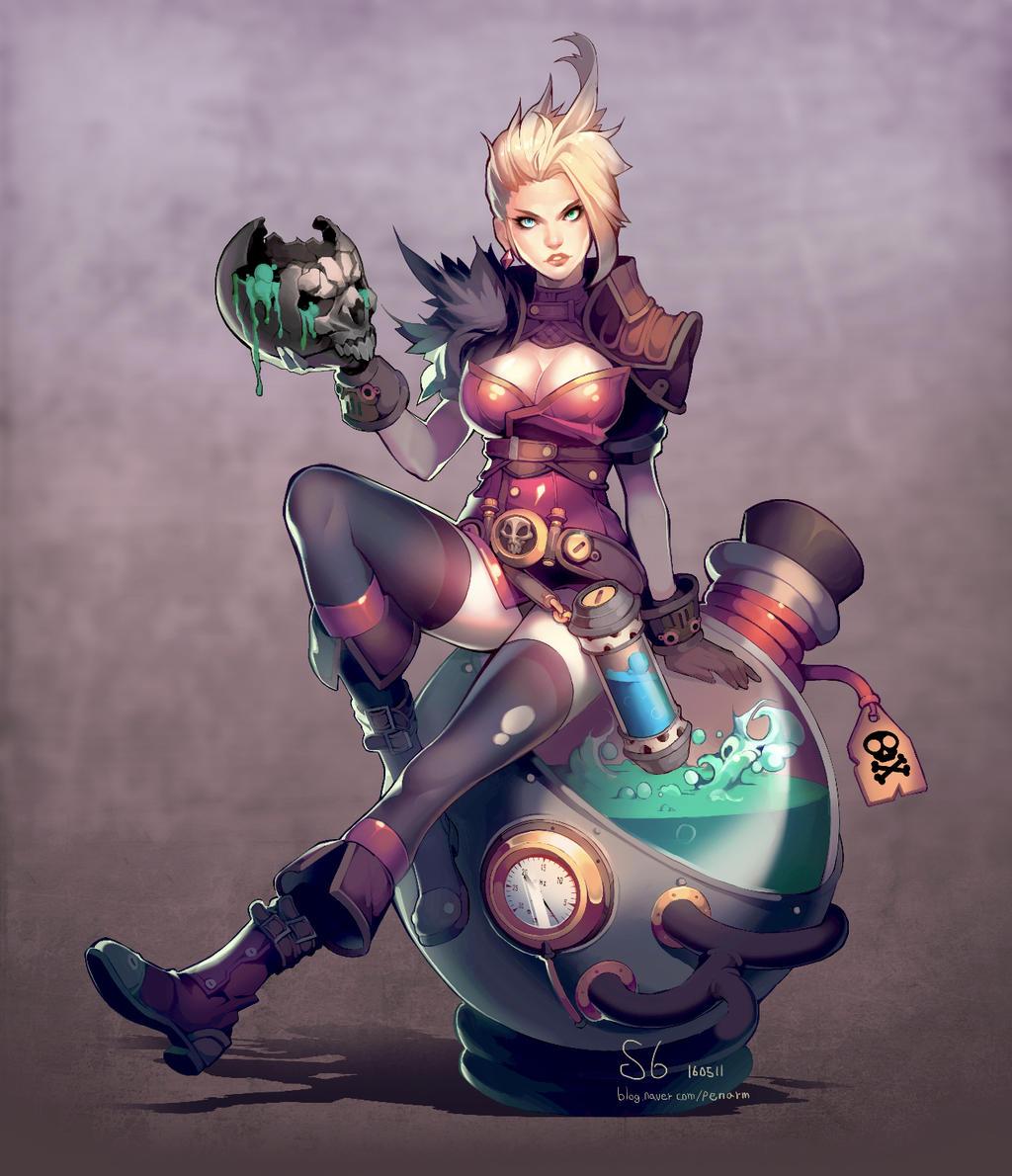 skull  Alchemist