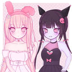 My Melody and Kuromi!