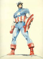 Captain America 1 by cwbird