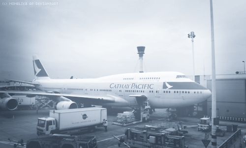 cathay pacific by mimelike