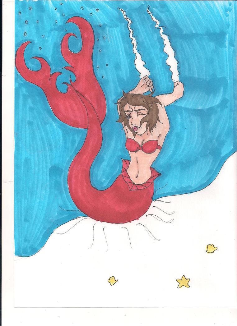 Mermaid Karin by Bella-Who-1