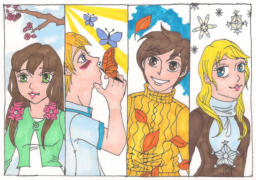 The 4 Seasons by Bella-Who-1