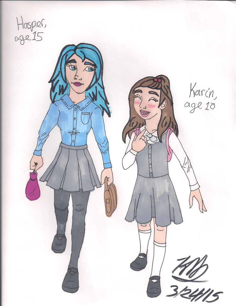 Walking home from school by Bella-Who-1