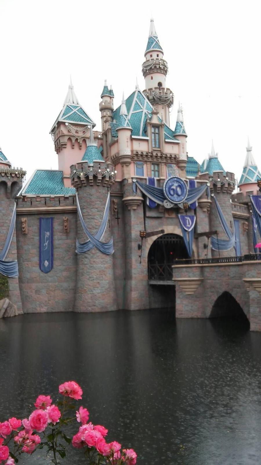Rainy Disney land by Bella-Who-1