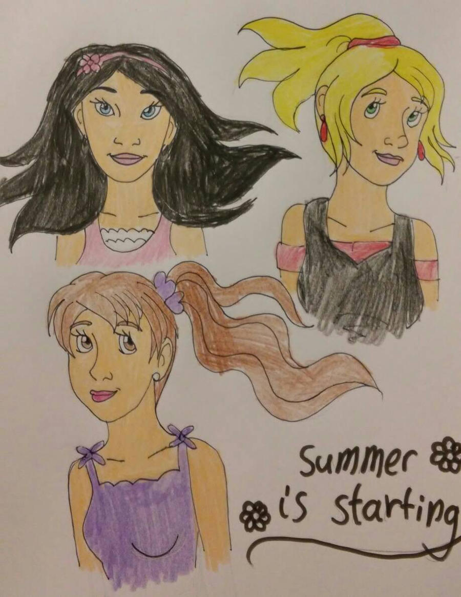 summer is starting by Bella-Who-1
