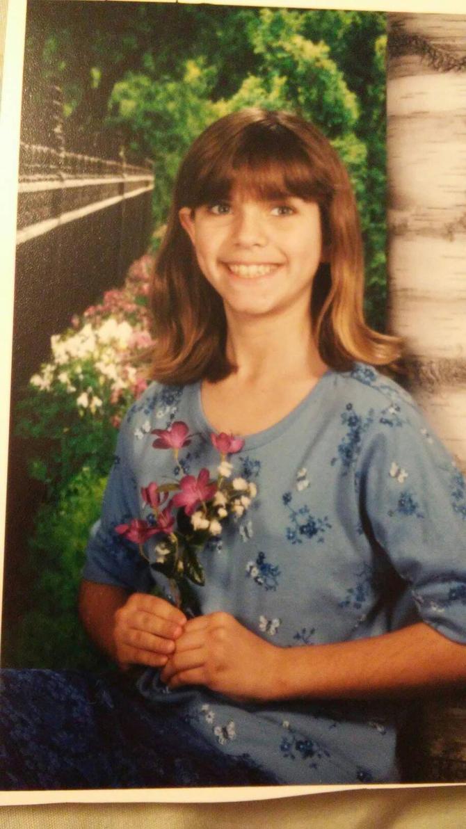 5th grade school pic by Bella-Who-1