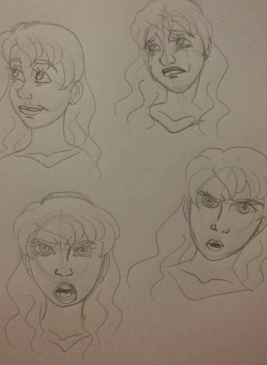 OHJ Karin face expression by Bella-Who-1