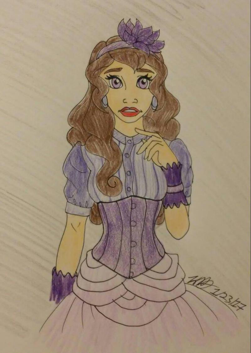 purple flower by Bella-Who-1