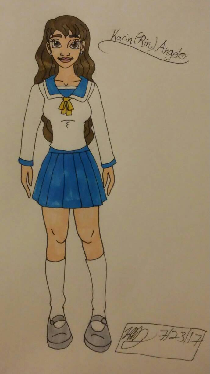 OHJ high school uniform by Bella-Who-1