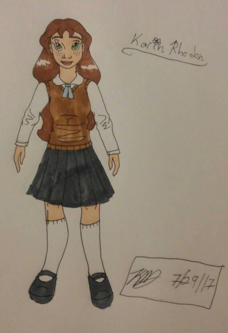 OHJ Jr high school uniform by Bella-Who-1