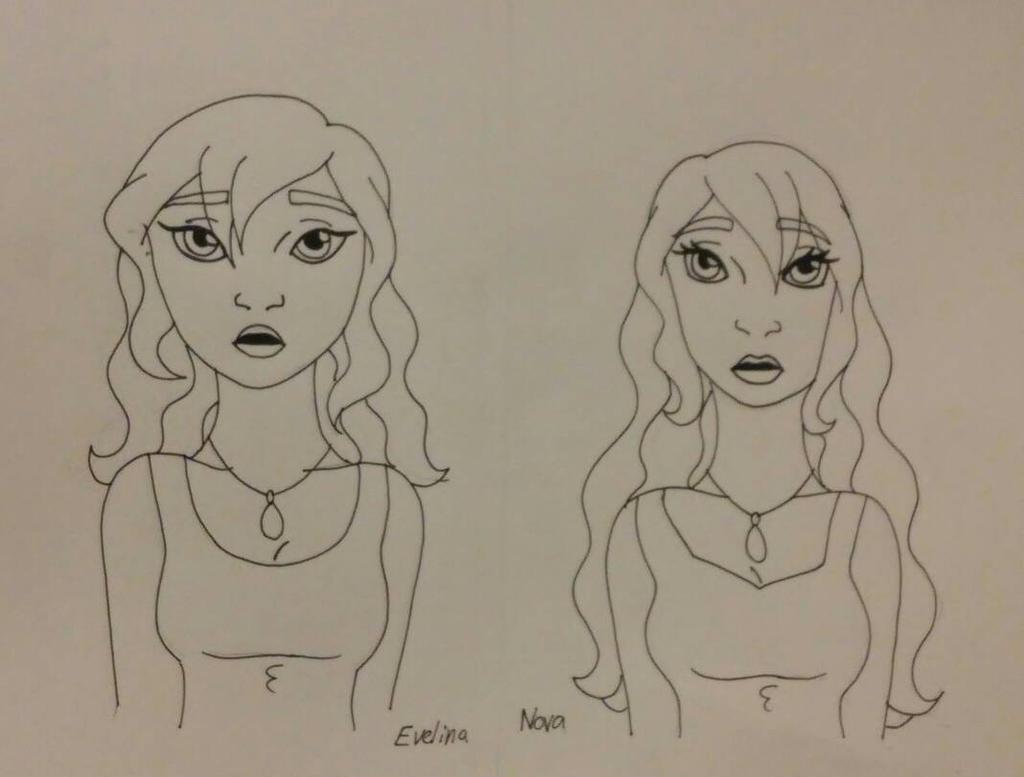 Evelina and Nova by Bella-Who-1