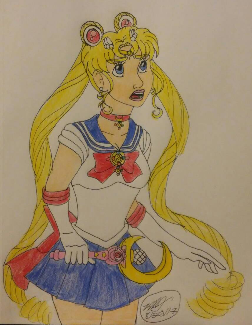 sailor moon by Bella-Who-1