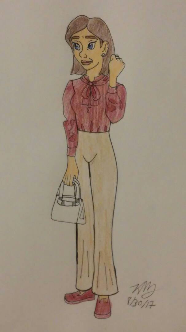 OHJ work outfit 1  by Bella-Who-1