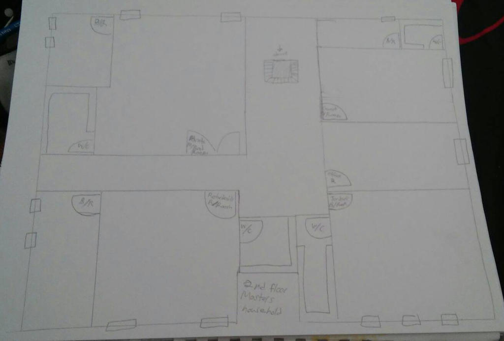 2nd floor of the Masters household by Bella-Who-1
