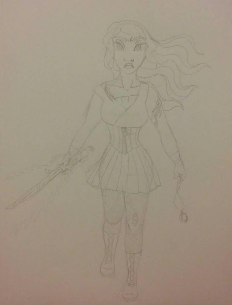 She's coming for you WIP by Bella-Who-1