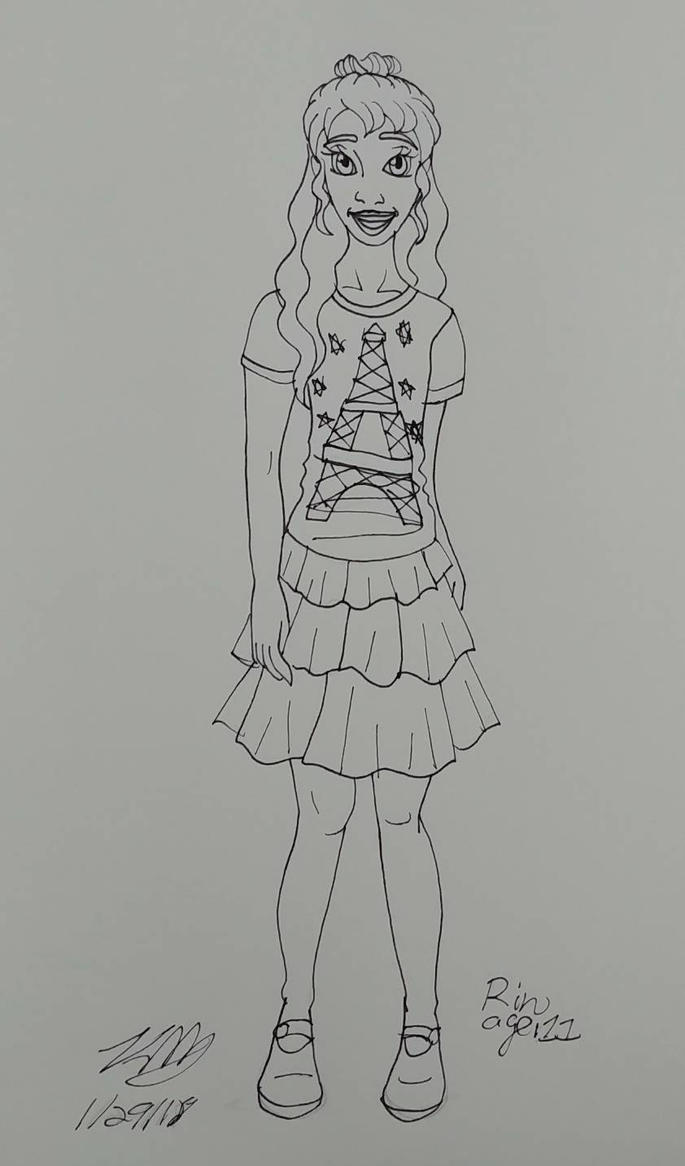 OHJ kid Rin by Bella-Who-1