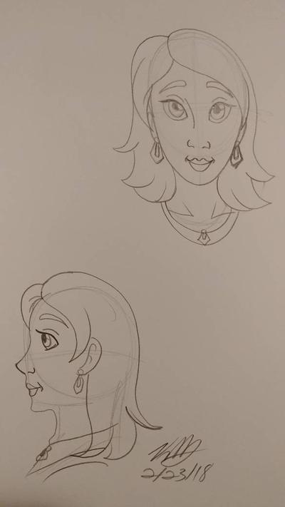 Pippa Rider sketch by Bella-Who-1
