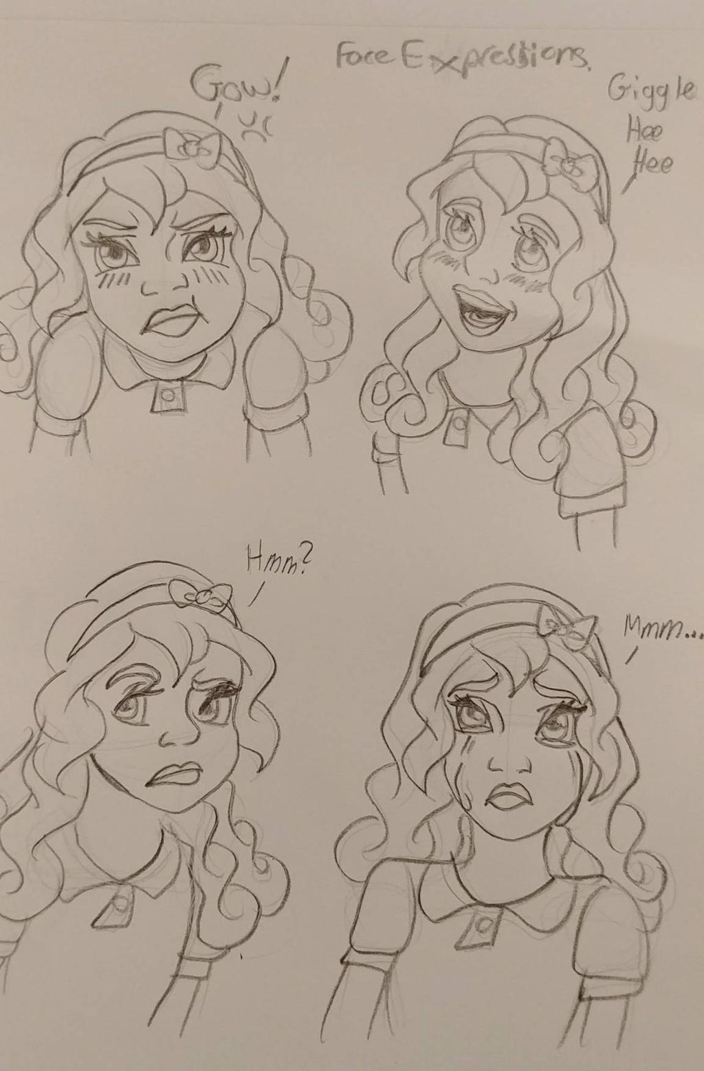 face expressions TFM  by Bella-Who-1