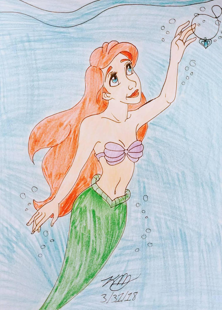 the little mermaid by Bella-Who-1