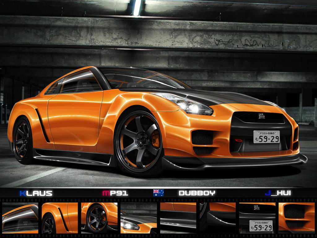 .:Team Australia WTB GT-R:. by Klaus-Designs
