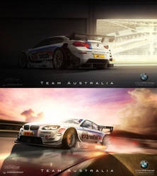 .: BMW 6-Series || Team Australia :. by Klaus-Designs