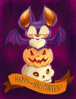 Happy Halloween by DemonGemini6