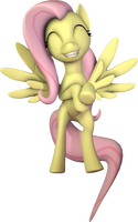 [SFM] Happy Fluttershy by EpicLPer