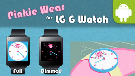 [DL] Pinkie Wear - Facer Skin (LG G Watch) by EpicLPer
