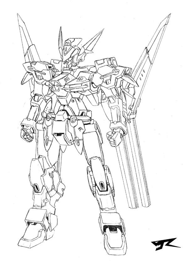 SRWOG: R-Buster by Rekkou