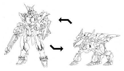 Cerberus Gundam by Rekkou