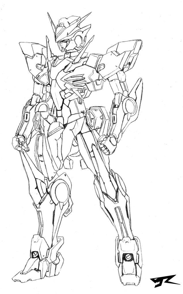 Gundam 00 Ve.R-X by Rekkou