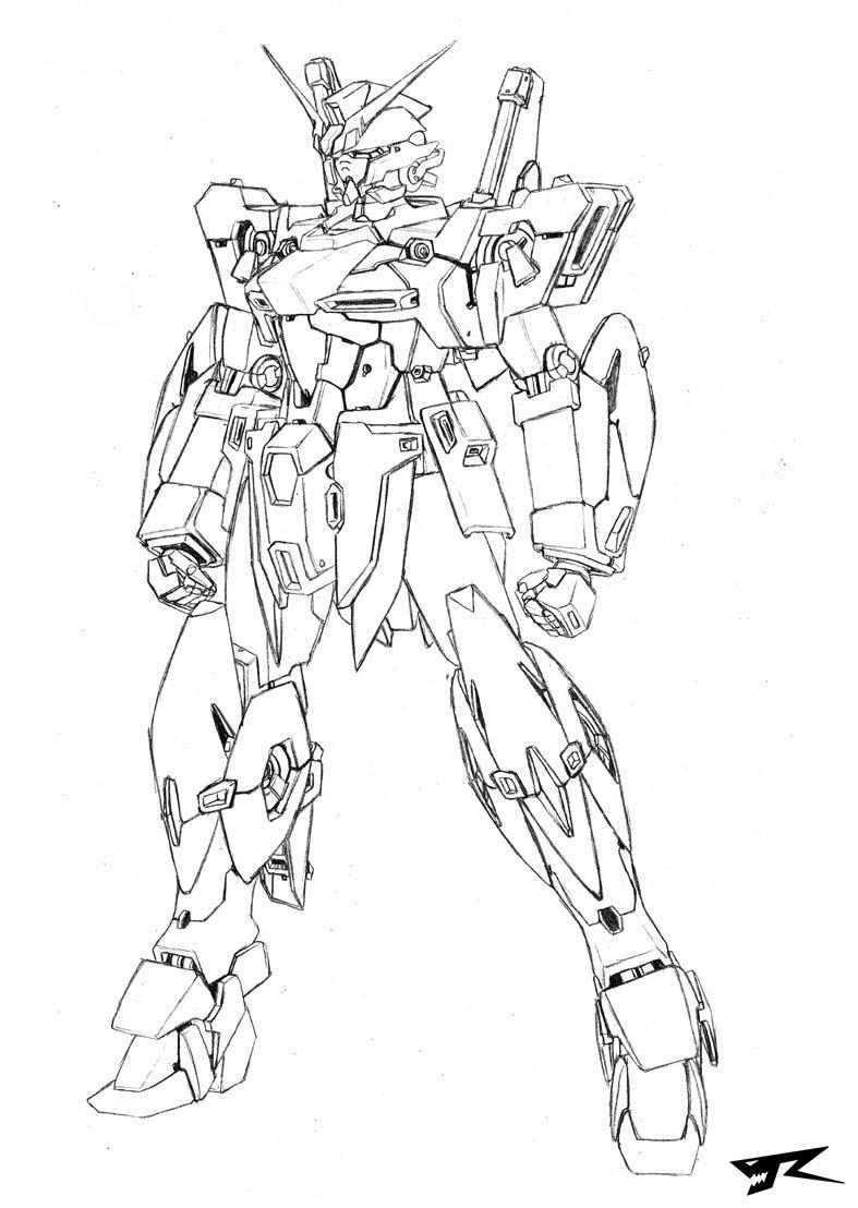 Forte Gundam Redesign By Rekkou On DeviantArt