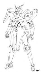 Aries Gundam by Rekkou