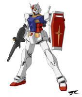 RX-78-2 Ve.R by Rekkou