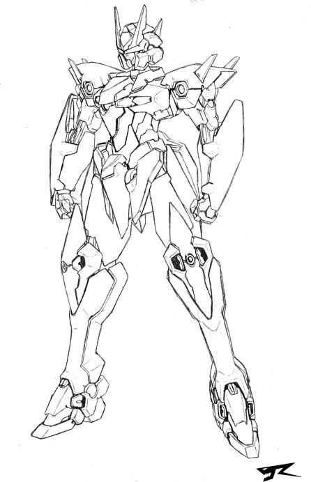 Eison Gundam by Rekkou