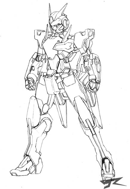 GN-000X Negael by Rekkou