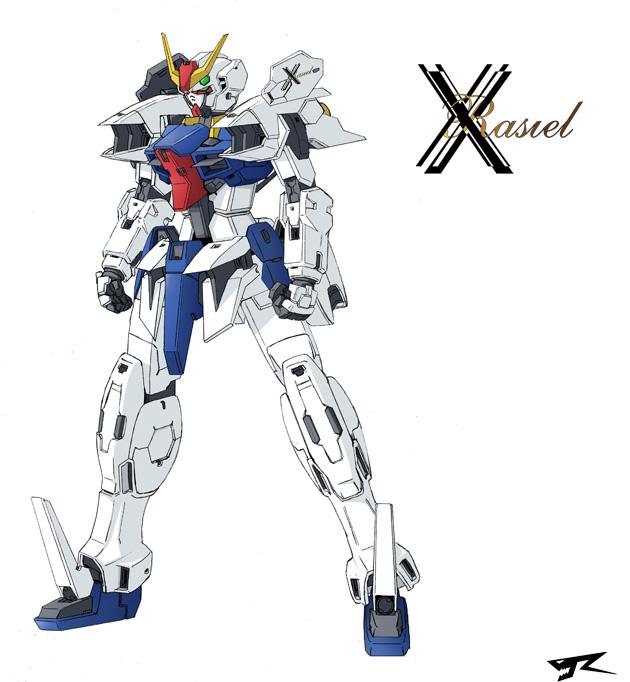 GN-XXX Rasiel Ve.R by Rekkou