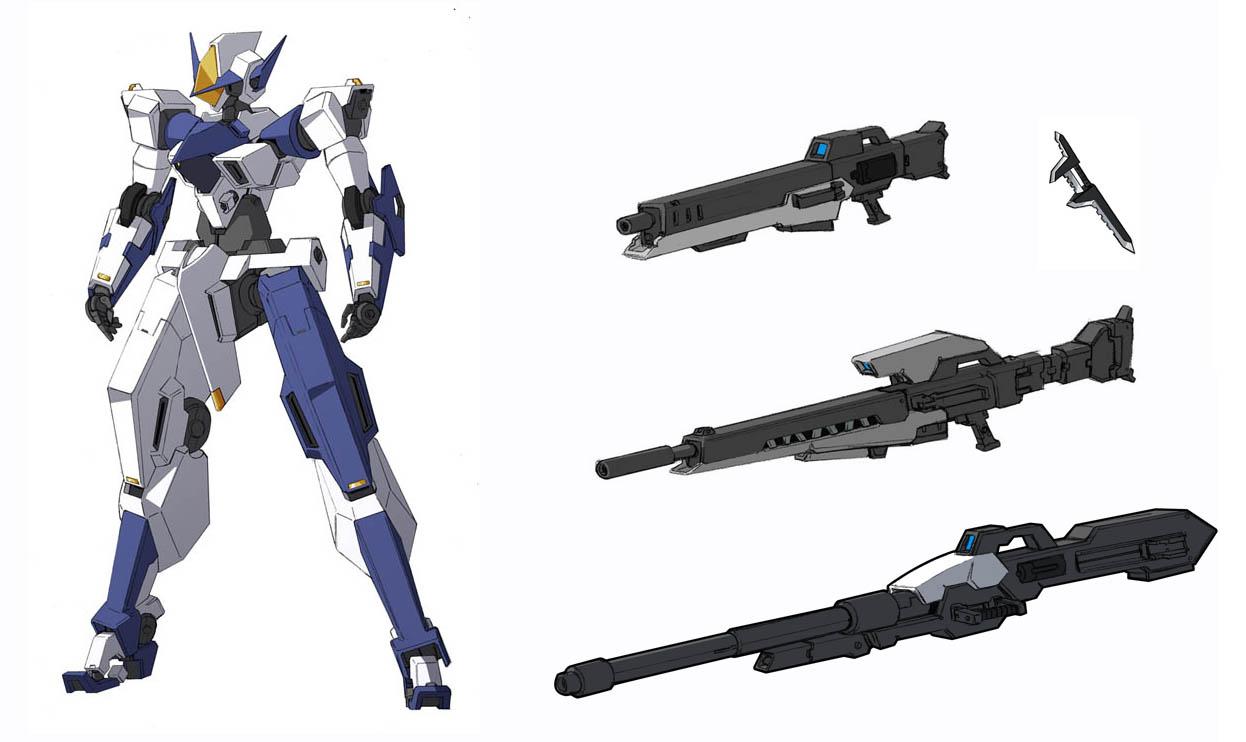 Gasher + armament by Rekkou